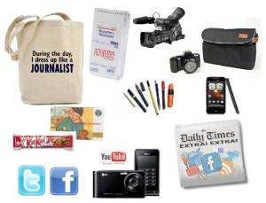 Social Media journalist toolkit