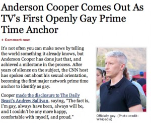 Anderson Cooper on Forbes